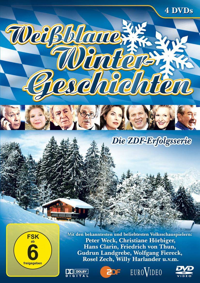 Weißblaue Wintergeschichten (4 DVD) - Alle 15 Folgen