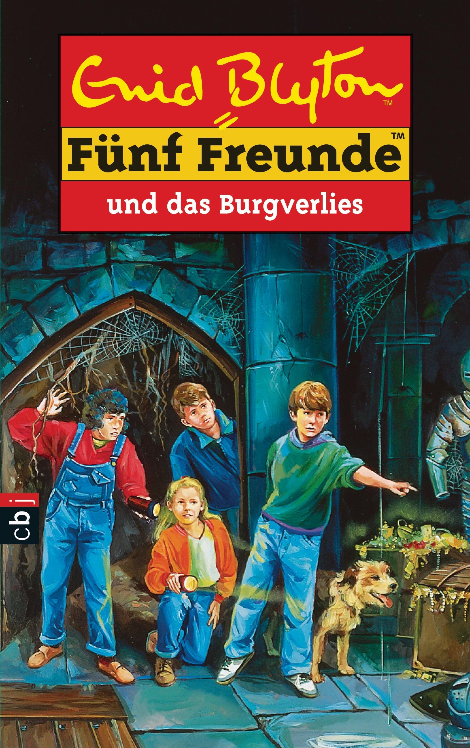 Fünf Freunde: Band 18 - ...und das Burgverlies - Enid Blyton
