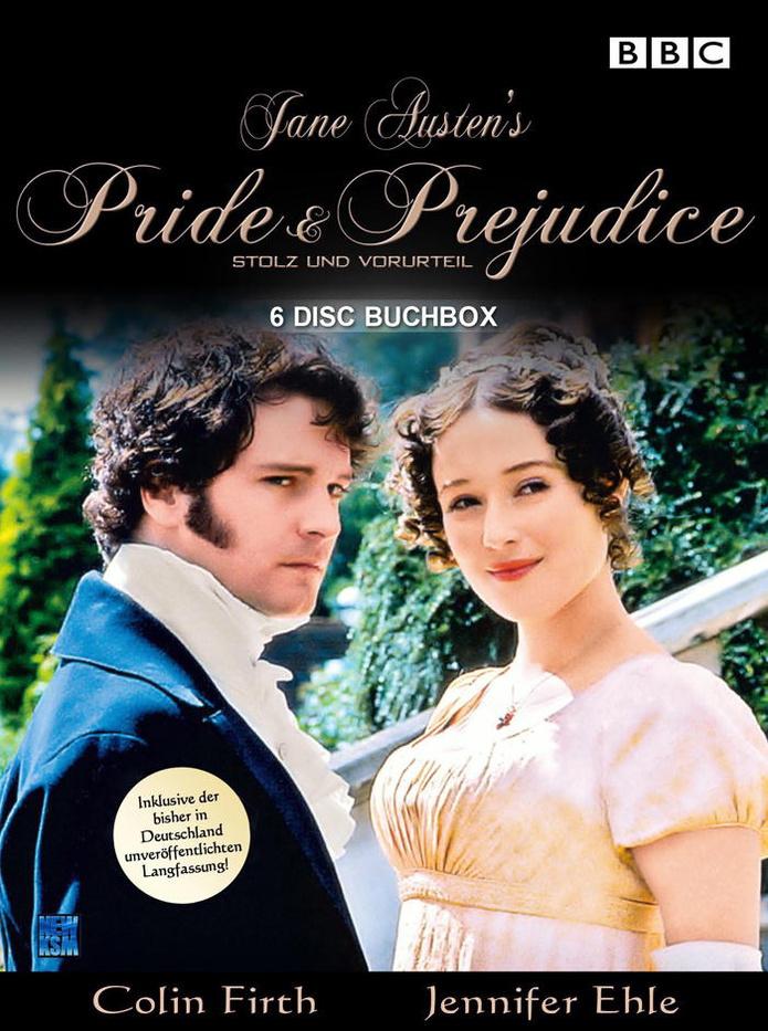 Pride & Prejudice - Stolz und Vorurteil (1995) - Buchbox inkl. Langfassung & Engl. Ton (6er DVD Box)