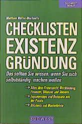 Checklisten Existenzgründung - Matthias Müller-...