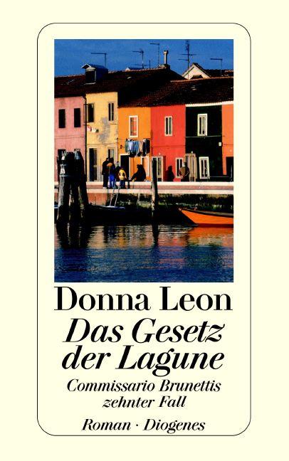 Das Gesetz der Lagune. - Donna Leon