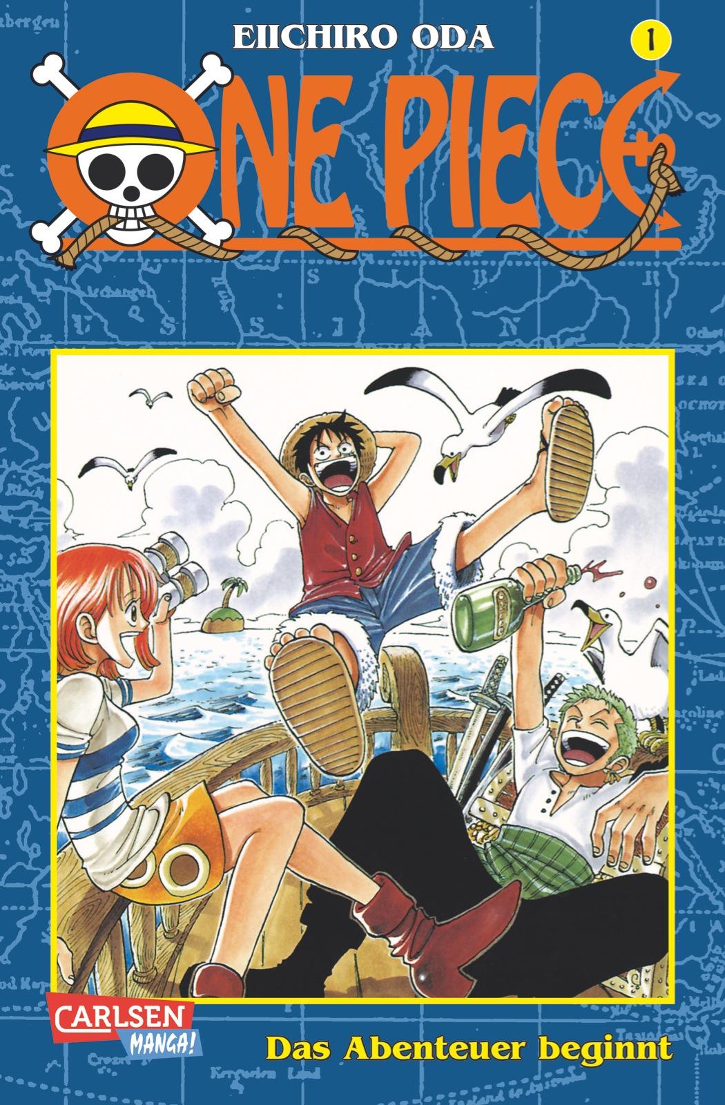 One Piece: Band 1 - Das Abenteuer beginnt - Eiichiro Oda [Taschenbuch]