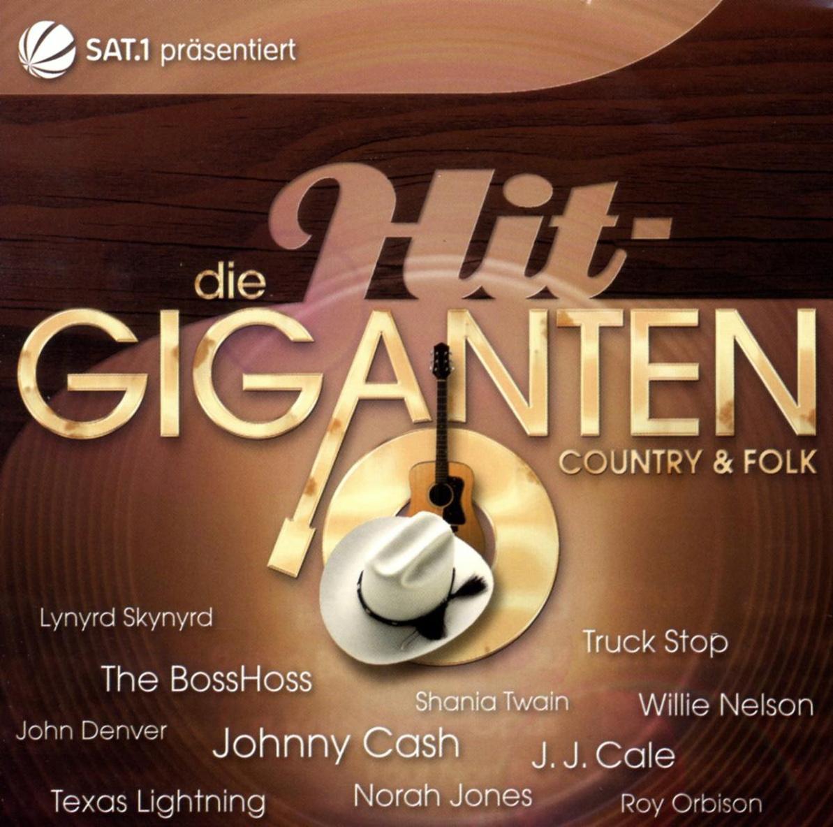 Various - Die Hit Giganten-Country & Folk