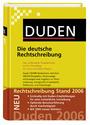 Duden: Die deutsche Rechtschreibung - Das umfassende Standardwerk auf der Grundlage der neuen amtlichen Regeln - Band 1 [Gebundene Ausgabe, 24. Auflage 2006]