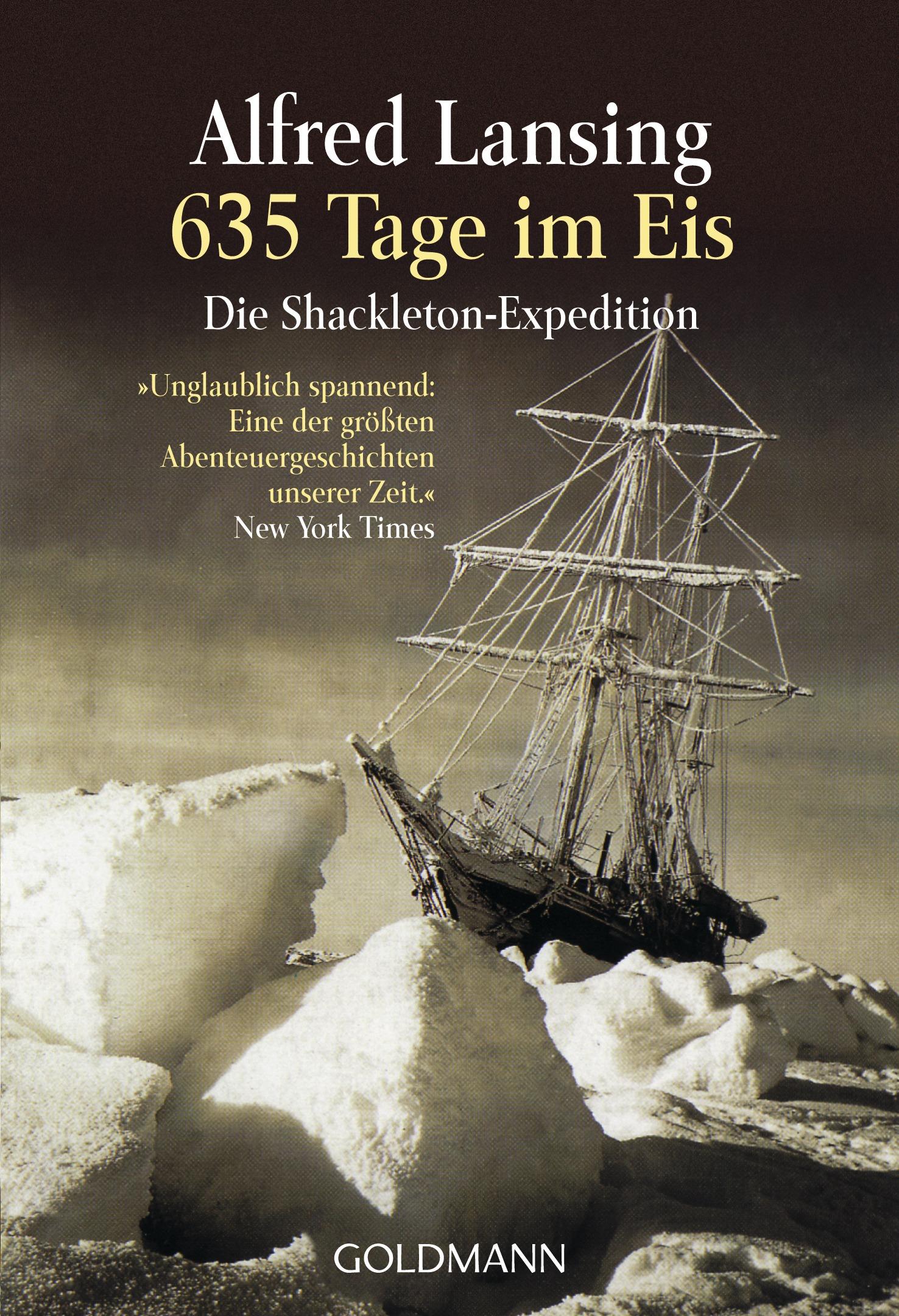 635 Tage im Eis: Die Shackleton-Expedition - Alfred Lansing