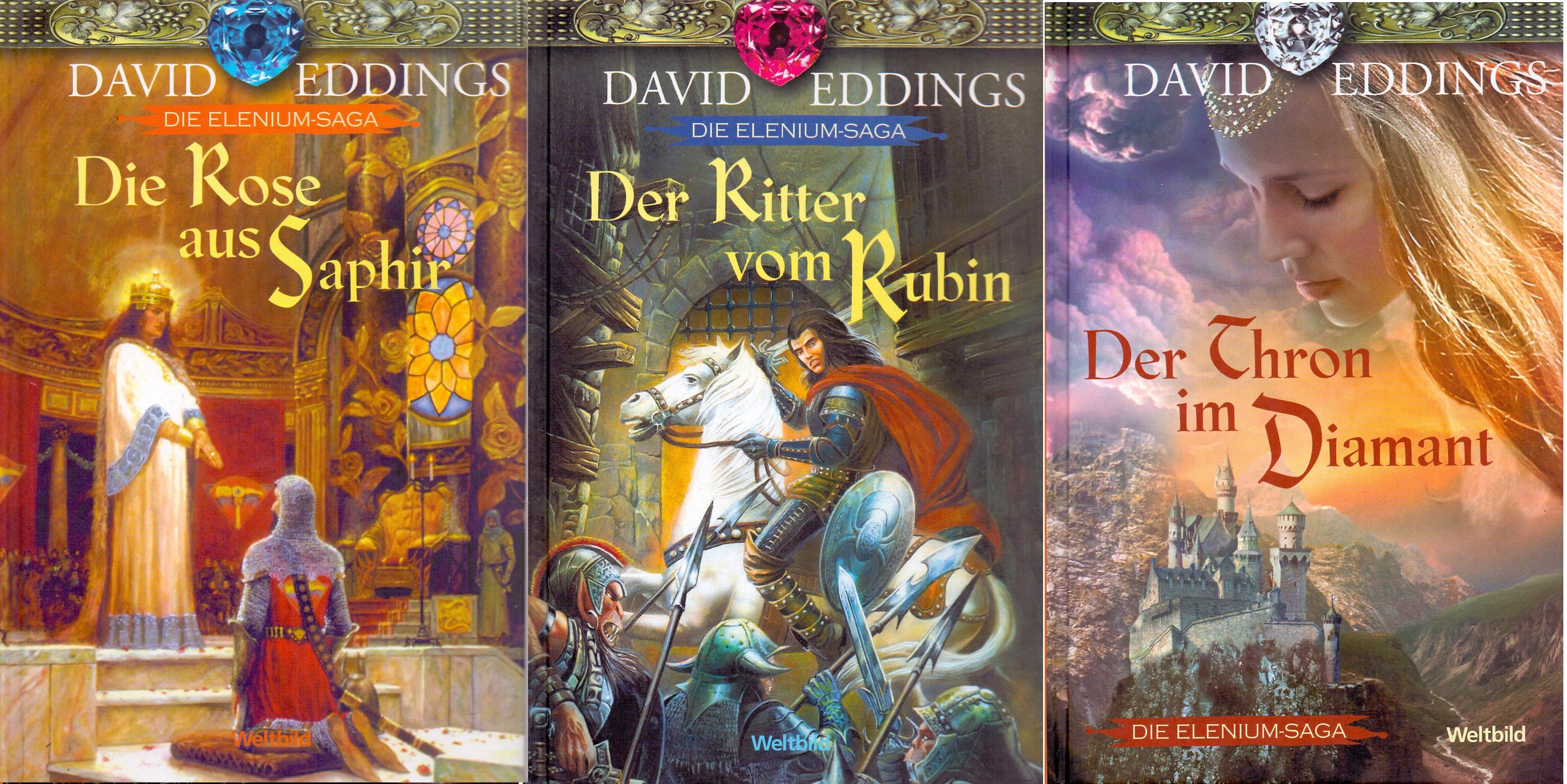 Die Elenium-Saga: Thron im Diamant / Ritter vom...