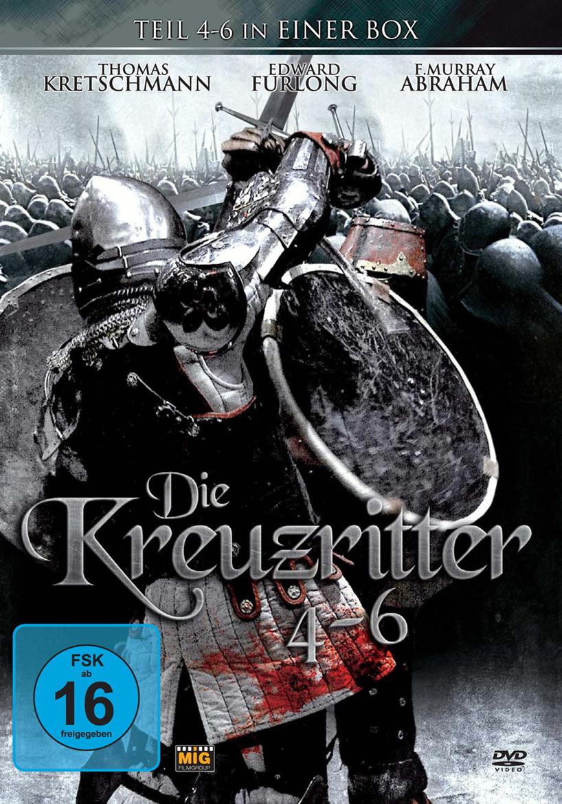 Die Kreuzritter-Trilogie 2 (Teil 4-6)