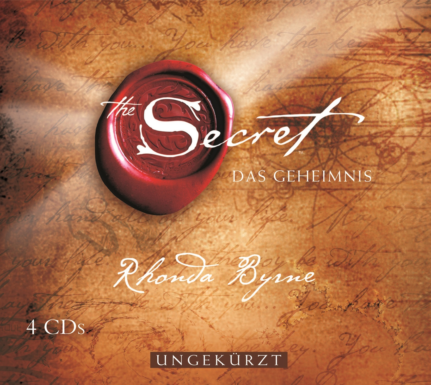 The Secret - Das Geheimnis - Rhonda Byrne [4 Audio CDs]