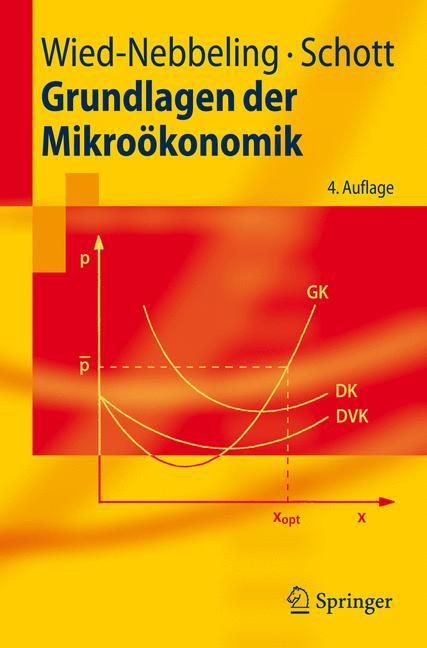 Grundlagen der Mikroökonomik - Helmut Schott