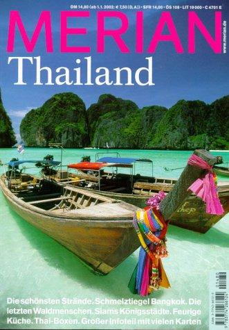Merian 12/2001: Thailand: Die schönsten Strände...