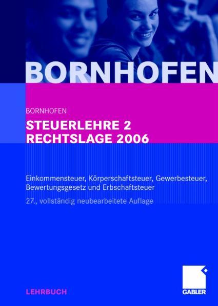 Steuerlehre 2 - Martin C. Bornhofen