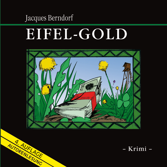Eifel-Gold - Jacques Berndorf [8 Audio CDs, 1 m...