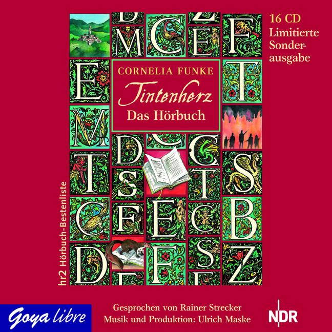 Tintenherz - Cornelia Funke [16 Audio CDs]