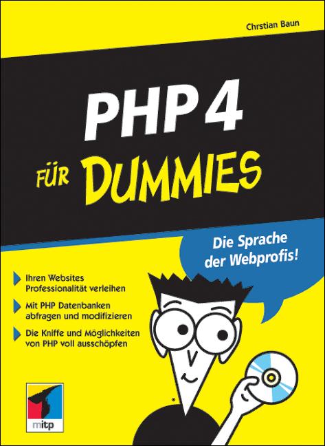 PHP 4 für Dummies - Christian Baun