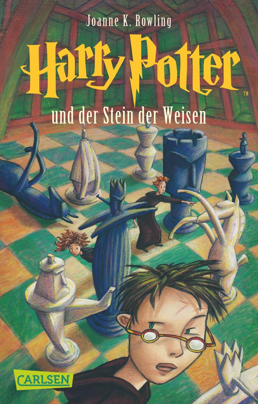 Harry Potter: Band 1 - Harry Potter und der Stein der Weisen - Joanne K. Rowling [Taschenbuch]