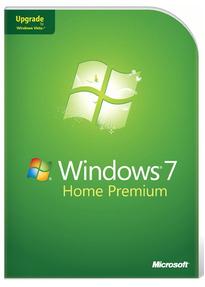 Microsoft Windows 7 Home Premium 32/64 Bit Upgrade