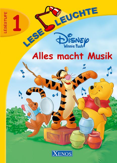 Leseleuchte Winnie Puuh. Alles macht Musik. Les...