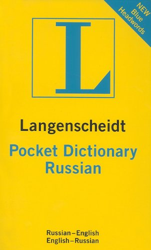 Russian Pocket Dictionary: Russian-English / En...