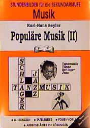 Musik (Sekundarstufe), Populäre Musik