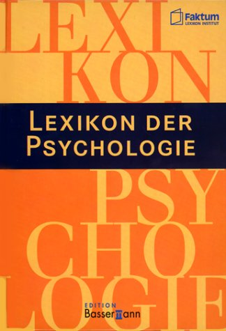 Lexikon der Psychologie