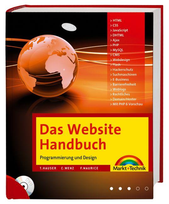 Das Website Handbuch - Tobias Hauser [Inkl. DVD]