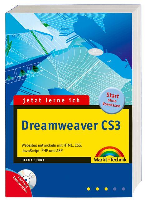 Jetzt lerne ich Dreamweaver CS3: Websites entwi...