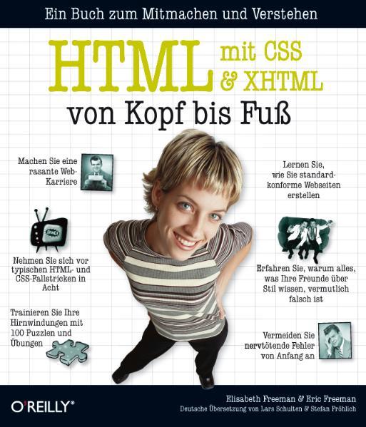 HTML mit CSS und XHTML von Kopf bis Fuß - Eric ...