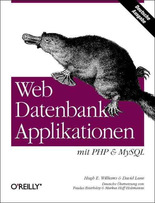 Web-DB Applikationen mit PHP & MySQL - Hugh E. ...