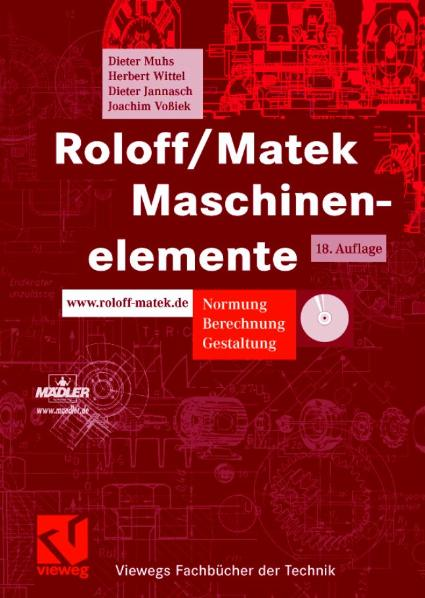 Roloff/Matek Maschinenelemente: Tabellenbuch - ...