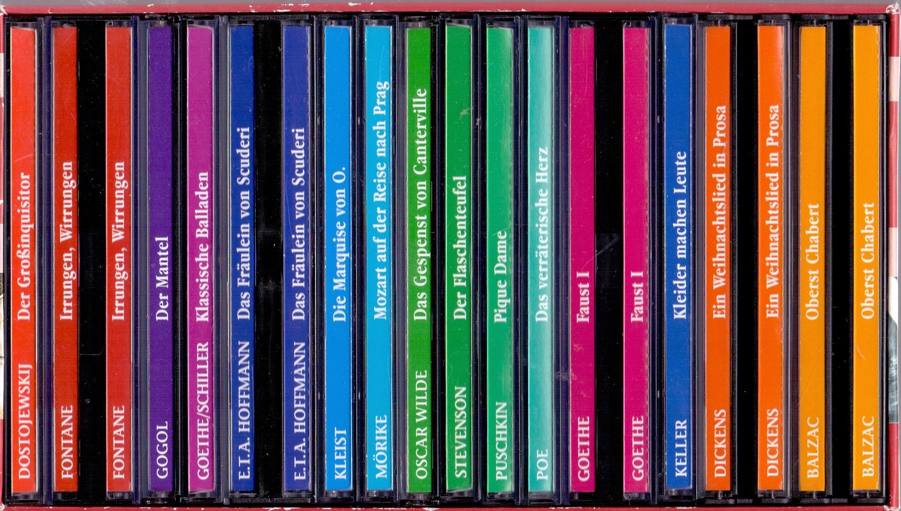 Weltbild Hörbibliothek: 15 Klassiker der Weltliteratur auf 30 CDs [inkl. Schuber, 30 CDs]