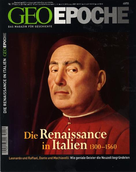 GEO Epoche 19/2005: Die Renaissance in Italien ...
