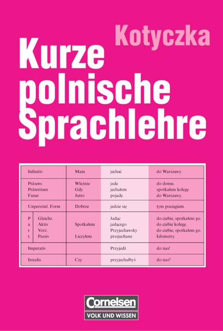 Kurze polnische Sprachlehre - Josef Kotyczka
