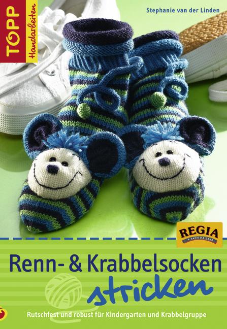 Renn- und Krabbelsocken stricken: Rutschfest un...