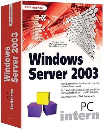 PC Intern Windows Server 2003. - Thomas Joos