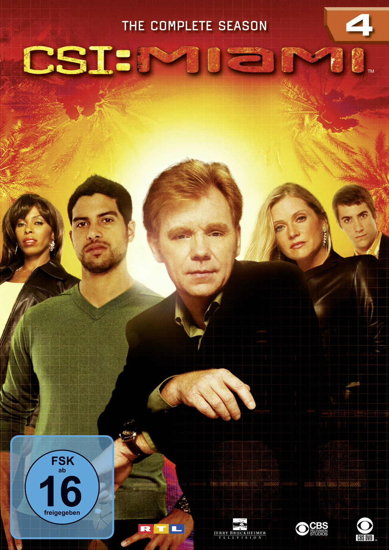 CSI: Miami - Die komplette Season 4 [6 DVDs]