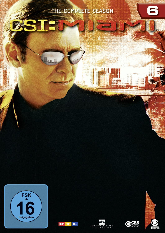 CSI: Miami - Die komplette Season 6