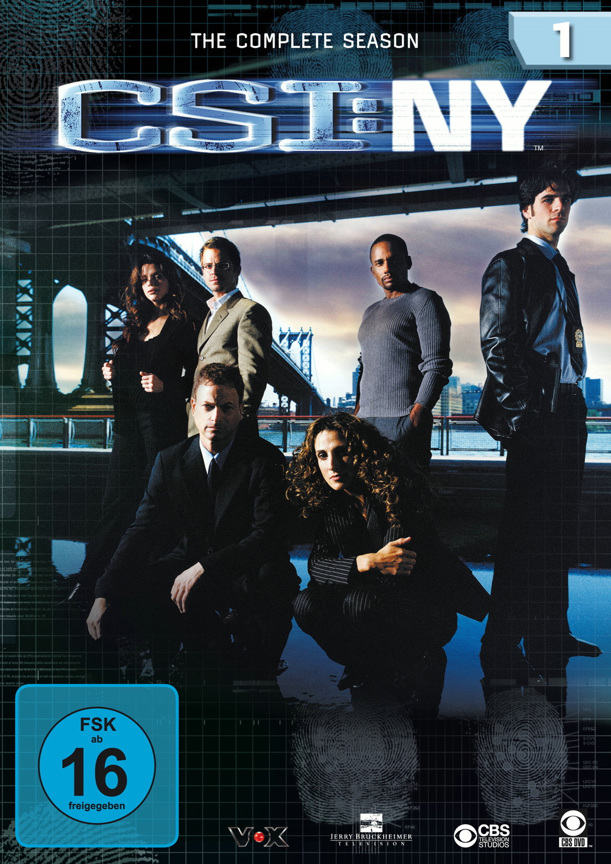 CSI: N.Y. - Die komplette Season 1
