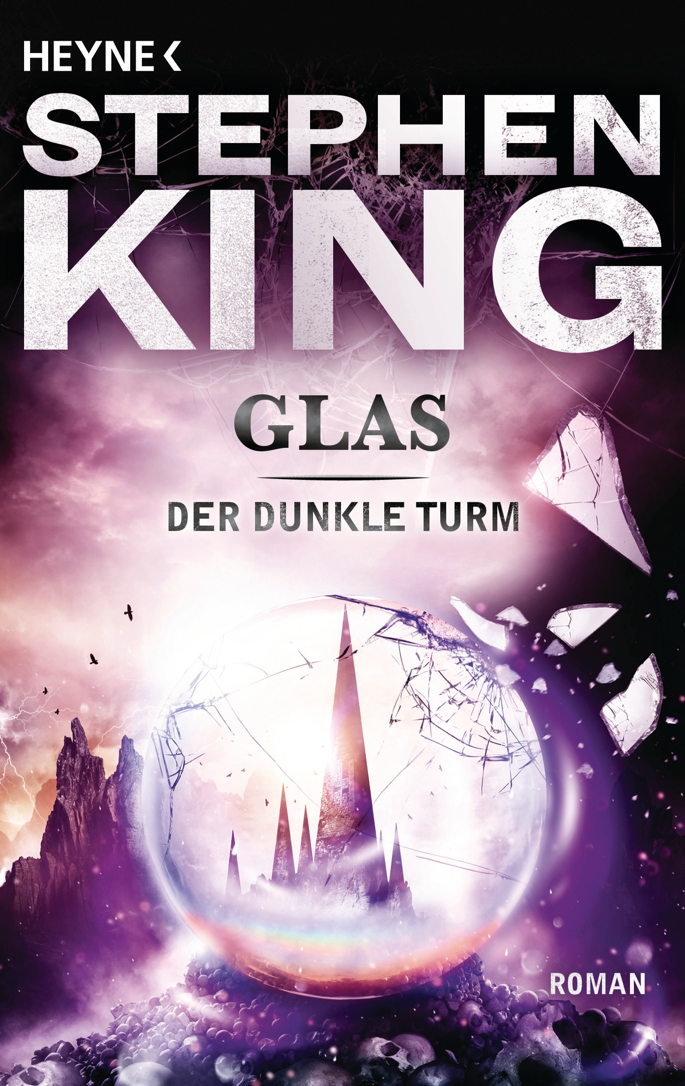 Der dunkle Turm: Band 4 - Glas - Stephen King [Taschenbuch]