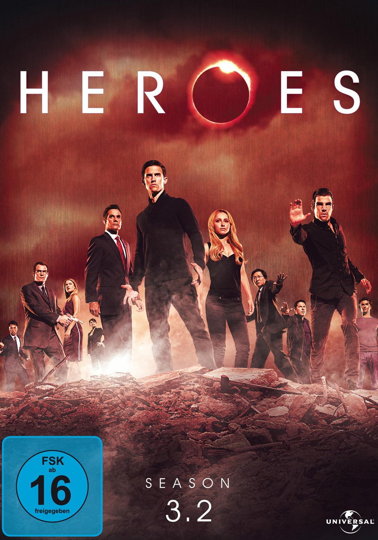 Heroes Season 3.2 - Steelbook