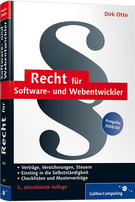 Recht für Software- und Webentwickler: Verträge...