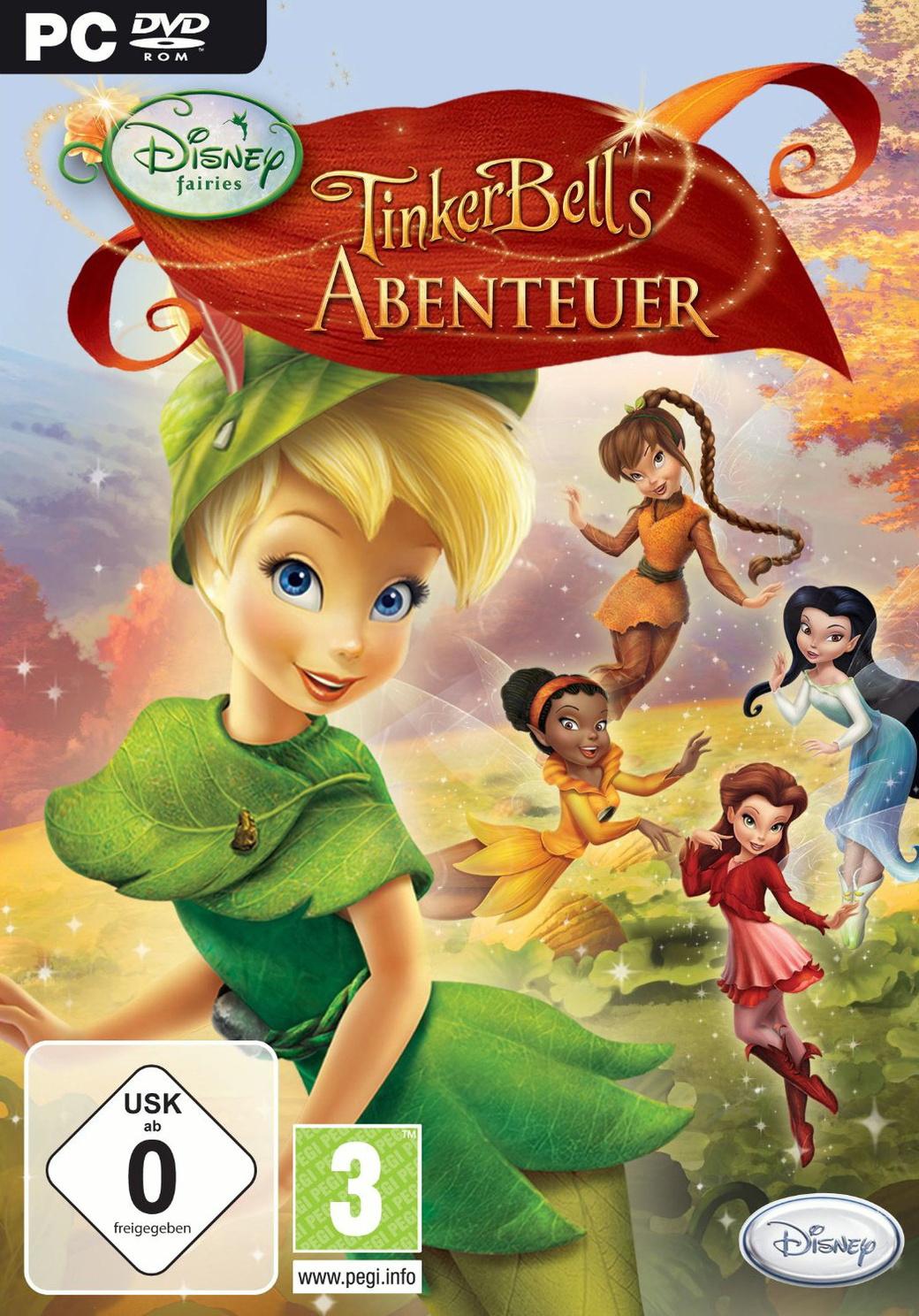 Ausmalbilder Tinkerbell Ein Sommer Voller Abenteuer : Fairies Disney Preisvergleich