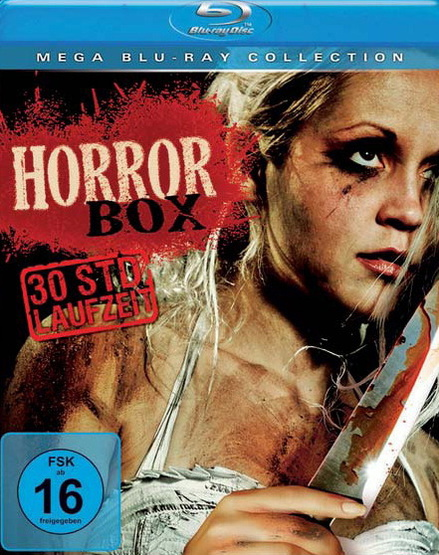 Mega Blu-ray Collection: Horror Box