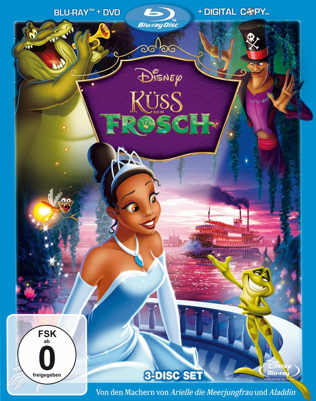 Küss den Frosch [Blu-ray + DVD]