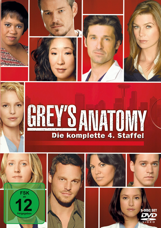 Grey´s Anatomy - Staffel 4 [5 DVDs]