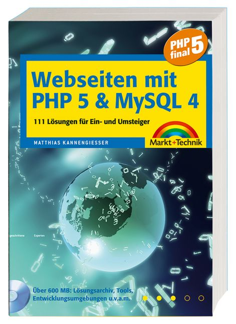 Webseiten mit PHP 5 und MySQL 4. 111 Lösungen f...
