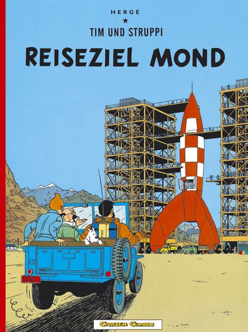 Tim und Struppi, Carlsen Comics, Neuausgabe, Bd.15, Reiseziel Mond - Herge