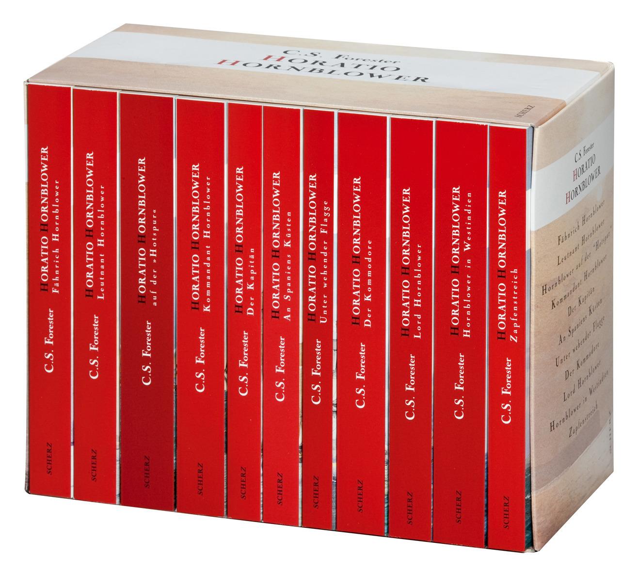 Hornblower - C. S. Forester [11 Bände in Kassette]
