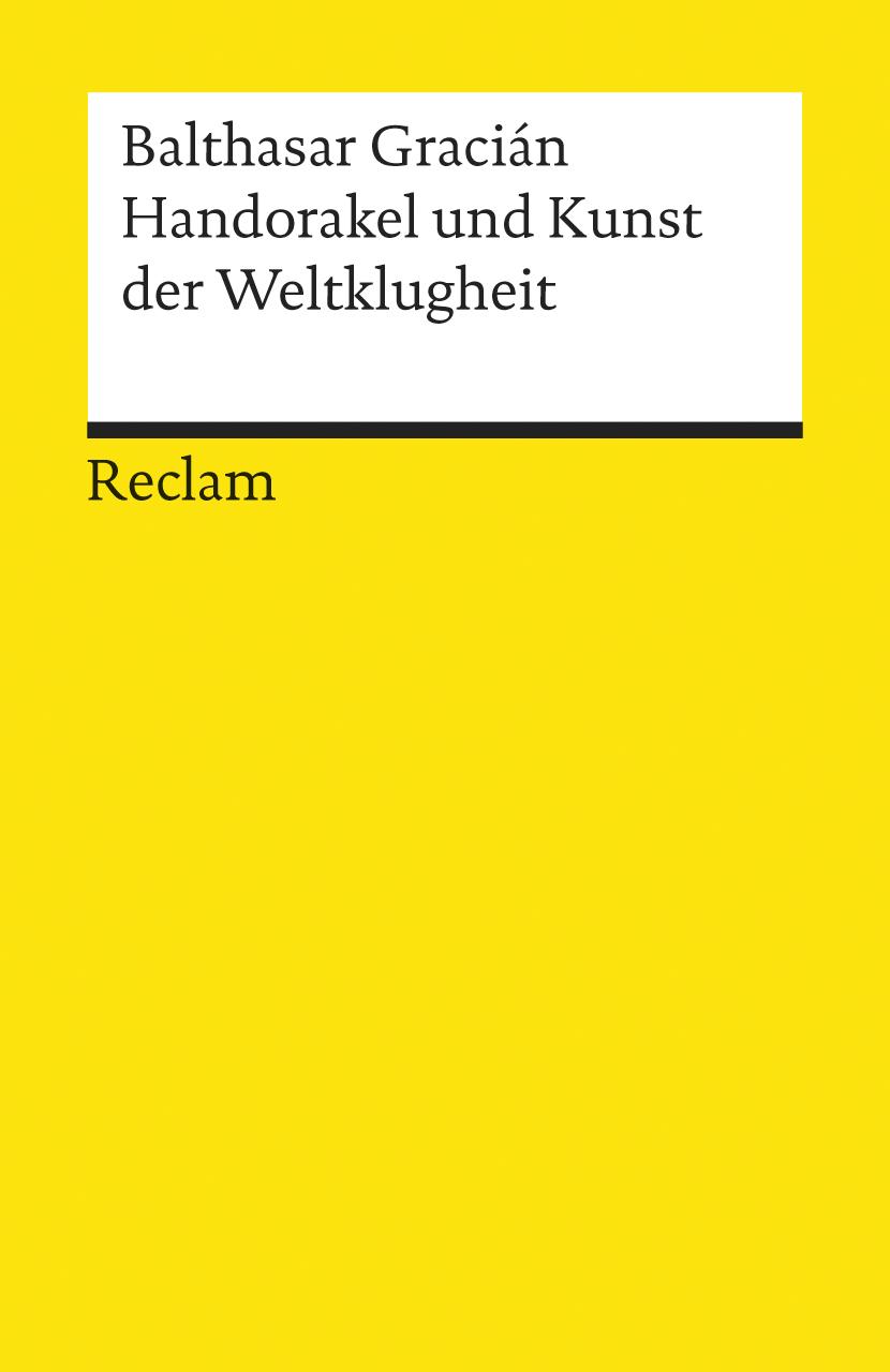 Hand-Orakel und Kunst der Weltklugheit - Baltha...