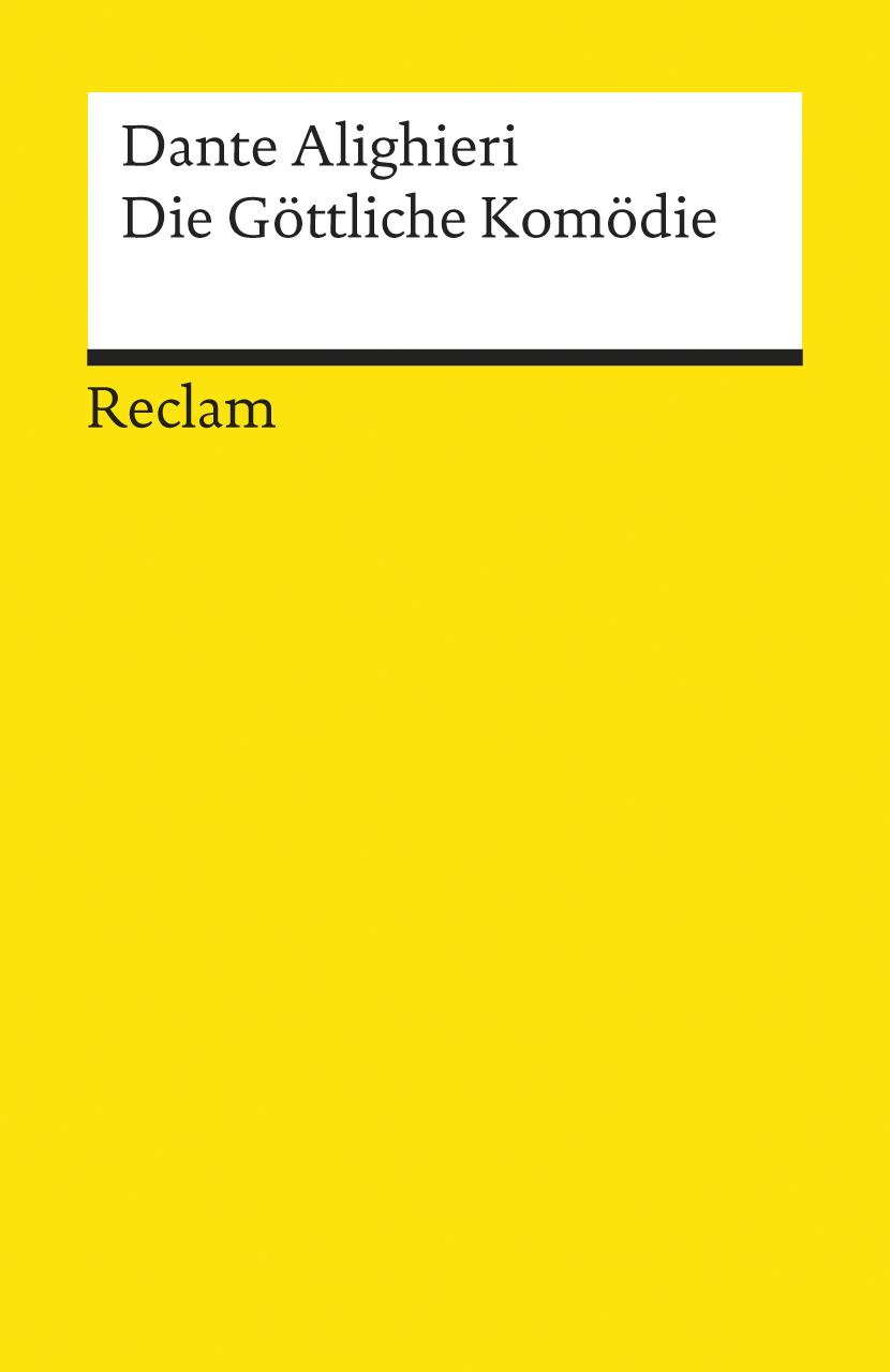 Die Göttliche Komödie. Übersetzt von Hermann Gmelin, mit Anmerkungen und einem Nachwort von Rudolf Baehr. (Lernmateriali
