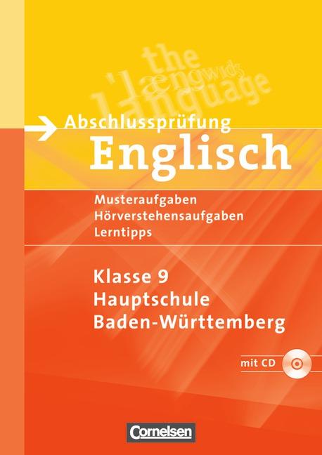Abschlussprüfung Englisch - Hauptschule Baden-W...